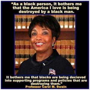 black-non obama