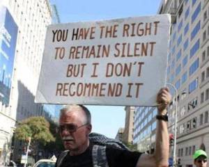 remain silent